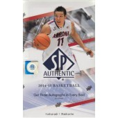 2014/15 Upper Deck SP Authentic Hobby Basketball 12 Box Case