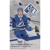 2014/15 Upper Deck SP Authentic Hobby Hockey Box
