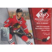 2014/15 Upper Deck SP Game Used Hockey Hobby Box