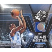 2014/15 Upper Deck SPx Basketball Hobby 8 Box Case