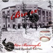 2014 Historic Autographs Five Boroughs Signed Baseball Edition 12 Box Case