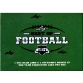 2014 Leaf Best of Football Hobby 3 Box Case