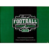 2014 Leaf Best of Football Unopened Edition 6 Box Case