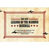 2014 Leaf Legends of the Diamond Baseball 4 Box Case