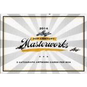 2014 Leaf Pop Century Masterworks Trading Cards Box