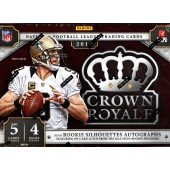 2014 Panini Crown Royale Football Hobby 12 Box Case
