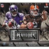 2014 Panini Playbook Football Hobby 15 Box Case