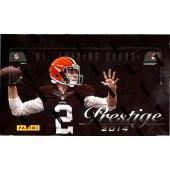 2014 Panini Prestige Football Hobby 12 Box Case