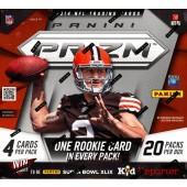 2014 Panini Prizm Football Hobby 12 Box Case
