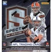 2014 Panini Spectra Football Hobby 8 Box Case