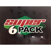 2014 Super Break Super 6 Pack Hockey 4 Box Case