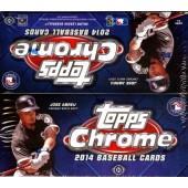 2014 Topps Chrome Baseball Jumbo 8 Box Case