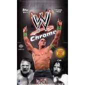 2014 Topps Chrome WWE Hobby 8 Box Case