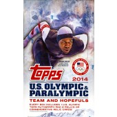 2014 Topps US Olympics Hobby 12 Box Case