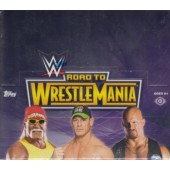 2014 Topps WWE Road To Wrestlemania Hobby 8 Box Case