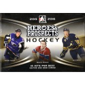2015/16 Leaf ITG Heroes and Prospects Hockey Hobby 10 Box Case