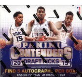 2015/16 Panini Contenders Draft Basketball Hobby 12 Box Case