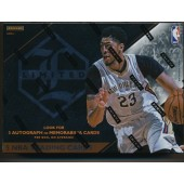 2015/16 Panini Limited Basketball Hobby 12 Box Case