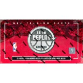 2015/16 Panini Replay Basketball Hobby 10 Box Case