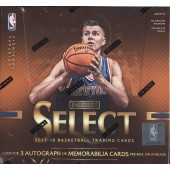 2015/16 Panini Select Basketball Hobby 12 Box Case