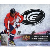 2015/16 Upper Deck ICE Hockey Hobby 8 Box Case