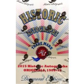 2015 HA Originals (1909-12) Diamond Edition Baseball 5 Box Case