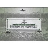 2015 Leaf History of Baseball Cut Signature Box