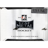 2015 Leaf Metal Draft Hockey Hobby Box