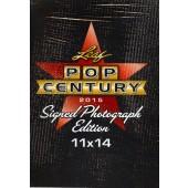 2015 Leaf Pop Century Signed 11x14 Photograph Edition Box