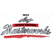 2015 Leaf Sport Edition Masterworks 8 Box Case