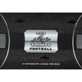2015 Leaf Trinity Football Hobby 12 Box Case