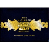 2015 Leaf Ultimate Draft Football Hobby 10 Box Case