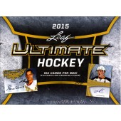 2015 Leaf Ultimate Hockey Hobby 6 Box Case