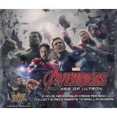 2015 Upper Deck Marvel Avengers 2: Age of Ultron Hobby 12 Box Case