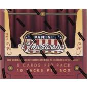 2015 Panini Americana Hobby 10 Box Case