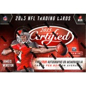 2015 Panini Certified Football Hobby 24 Box Master Case