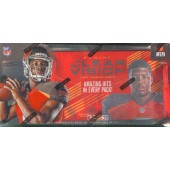 2015 Panini Clear Vision Football Hobby 18 Box Case