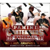 2015 Panini Contenders Baseball Hobby 12 Box Case