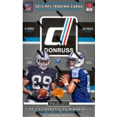 2015 Panini Donruss Football Hobby 20 Box Case