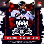 2015 Panini Gridiron Kings Football 15 Box Case