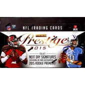 2015 Panini Prestige Football Hobby 12 Box Case