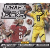 2015 Panini Prizm Collegiate Draft Football Hobby 20 Box Case