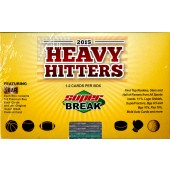 2015 Super Break Heavy Hitters 4 Box Case