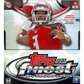 2015 Topps Finest Football Hobby 8 Box Case