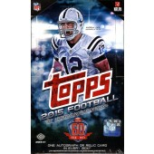 2015 Topps Football Hobby 12 Box Case