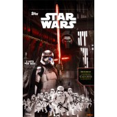 2015 Topps Star Wars The Force Awakens Series 1 Hobby 12 Box Case
