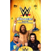 2015 Topps WWE Chrome Wrestling Hobby 8 Box Case