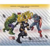 2015 Upper Deck Marvel Fleer Retro Hobby 6 Box Case