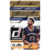 2016/17 Panini Donruss Basketball Hobby 20 Box Case