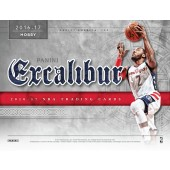2016/17 Panini Excalibur Basketball Hobby 16 Box Case
